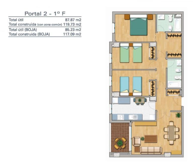 Precios de promoci n obra nueva malaga pisos de 3 y 4 for Piso 4 dormitorios teatinos malaga