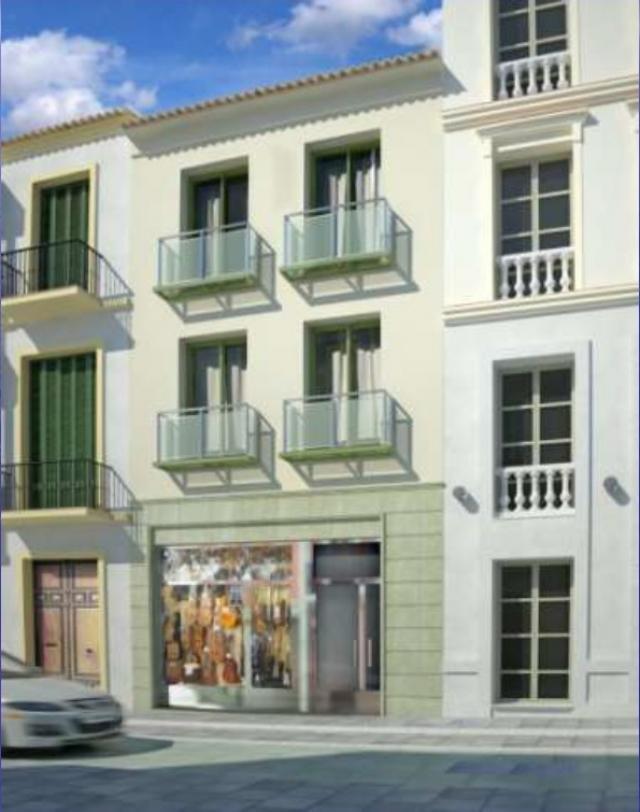 Promocion obra nueva malaga centro historico pisos de 1 dormitorio - Pisos de bancos en malaga ...